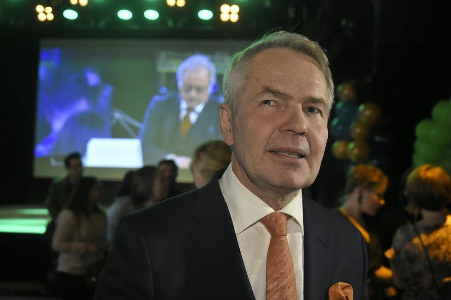 Pekka Haavisto oli pienoisesti pettynyt vaalitulokseensa.