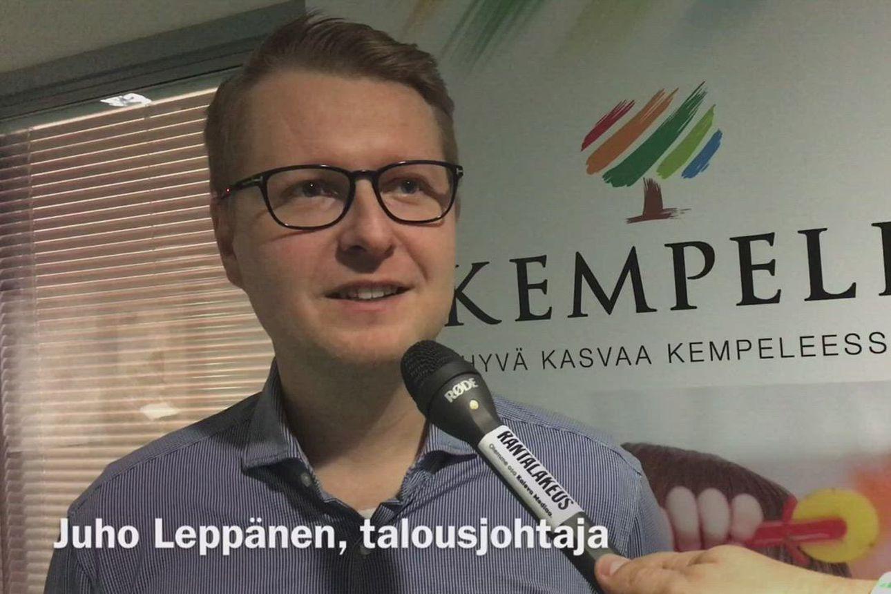 Mitä Kempeleen talousjohtaja Juho Leppänen toivoo Joulupukilta? Miltä näyttää kunnan talous tänä vuonna ja lähitulevaisuudessa?