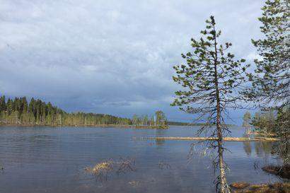 Kuusamon sateilla ei suurta vaikutusta tulviin – vedet tulossa alaspäin