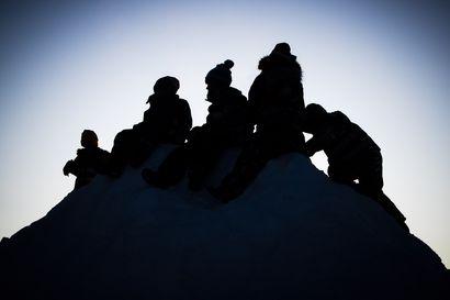 Viikon kuva: Kukkulan kuninkaat talvisäässä
