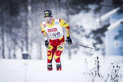 Juuso Haarala selvitti työmiehen kelin – Oberstdorfin MM-kisoista palannut Lauri Vuorinen joutui taipumaan Lapin mestaruushiihdoissa