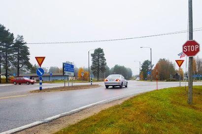 STOP-merkit asennetaan tänään SEOn risteykseen Posiolle