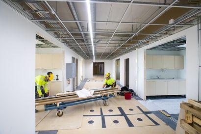 Vihannin koulu valmistuu sovitussa aikataulussa: Katso miltä rakennuksessa nyt näyttää