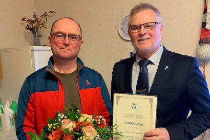 Rovaniemen kaupunki valitsi vuoden maatilayritykseksi Hannu Yli-Suvannon karjatilan