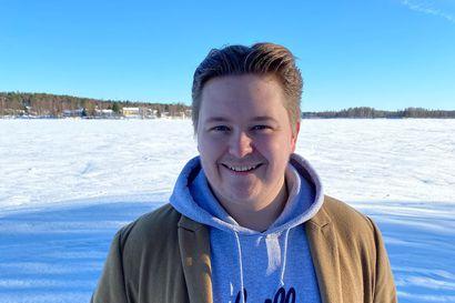 Jäälistä kotoisin olevaa Jere Tapiota esitetään keskustanuorten puheenjohtajaksi