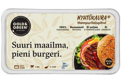 Paulig vetää takaisin Gold&Green Nyhtökaura hampurilaispihvierät – yhdestä tuote-erästä löytyi listeriabakteeria