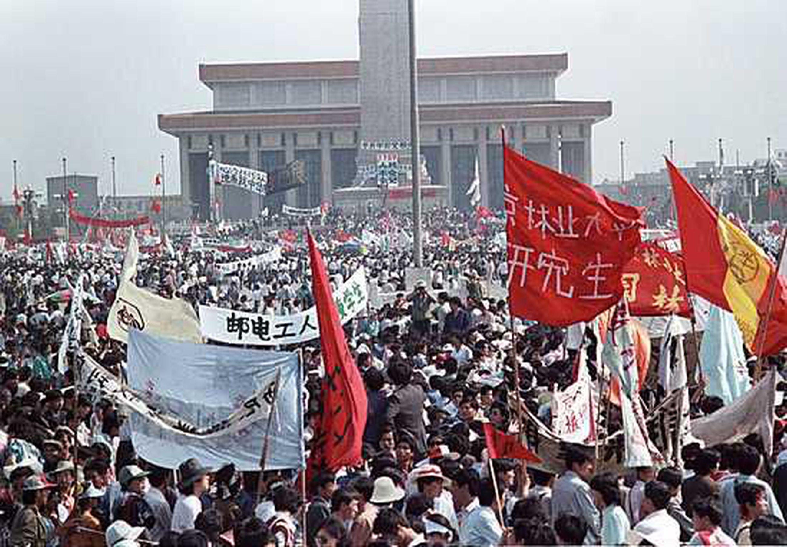 Tiananmenin Verilöyly