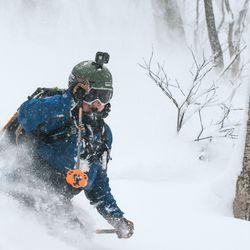"""Alkuvuosi kausityössä puutereilla Japanissa, sesongit Suomessa - Kahdeksan metrin hanget vievät Karvosen Japaniin: """"Voiko olla parempaa, saa laskea asiakkaiden kanssa metsässä koko päivän ja siitä saa korvauksen"""""""
