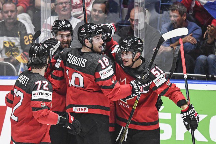 Tshekin kaatanut Kanada luistelee Suomea vastaan huomenna pelattavassa jääkiekon MM-finaalissa.