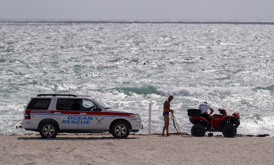 Hirmumyrskyn odotetaan rantautuvan Floridan Miamiin viikonlopun aikana.