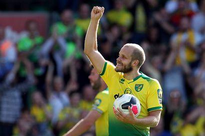 Pukki sinetöi Norwichin voiton ja Mestaruussarjan ykkössijan, Forss osui Brentfordille