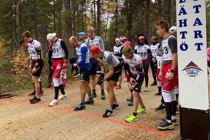 Eelis Valikainen juoksi Inarin Yrityksen 70-vuotisjuhlan kunniaksi Juutuan Juhlahölkän reittiennätyksen