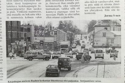 Vuosien takaa: Lukijan mielestä Raahessa ajeltiin kuin villissä lännessä