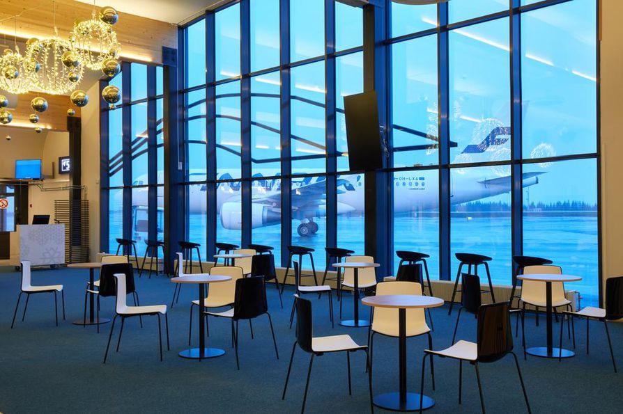 Talvikuukaudet ovat Lapin lentoasemilla kesää vilkkaampia.