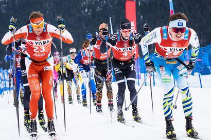 Ari Luusua jälleen palkintopallitaistossa - Sveitsistä kauden paras Ski Classics tulos