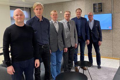 Pyhäntäläinen Ville Sorvoja rakennusliikkeen osaomistajaksi