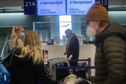 Finnair myi ennakkoon useita tuhansia lippuja perutuille lennoille Britanniasta Suomeen – Lentokielto on jatkunut pian neljä viikkoa