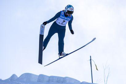 Jenny Rautionaholle ensimmäiset maailmancupin pisteet Sloveniassa