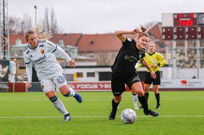 Natalia Kuikan Kopparbergs/FC Göteborg sijoittui Damallsvenskanissa toiseksi, mestaruutta juhlitaan Malmössa