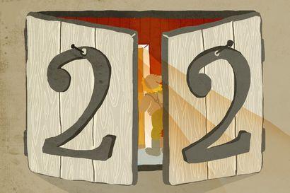 Joulutarina: Piparkakkuyllätys – luukku 22