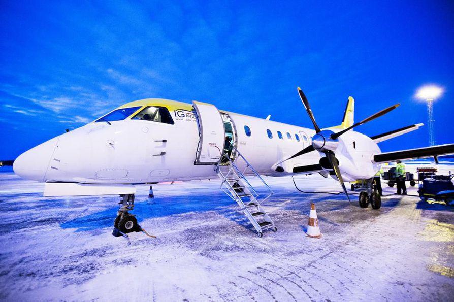 NextJet on liikennöinyt muun muassa Oulun ja Luulajan sekä Tromssan välillä.