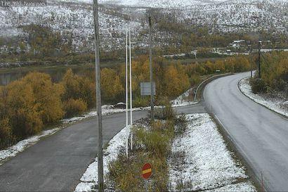 Sää jatkuu Lapissa kylmänä ja kosteana – Itä-Lappiin sataa lunta tiistaina, muualla hajanaisia sade- ja räntäkuuroja