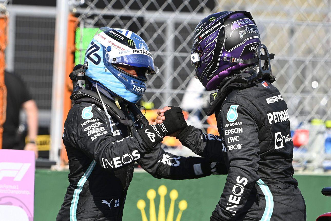 """Mercedes """"juonitteli"""" eturivin paikat – Hamilton paalulta ja Bottas kakkosruudusta Unkarin kisaan"""