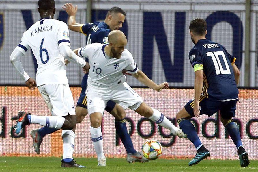 Suomi voitti Armenian lukemin 3–0.