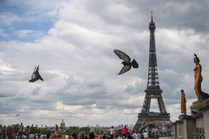 Eiffel-torni evakuoitu pommiuhan vuoksi – nimetön vihje osoittautui huijaukseksi