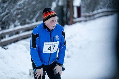Antti Liljan 301. Talvisarjajuoksu - Johanna Peiponen nopein mutta oikea talvikeli verotti aikoja