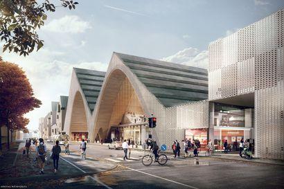 Oulun asemakeskussuunnitelmat asetetaan nähtäville