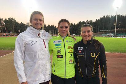 Julia Valtanen voitti keihäsnaisten maaottelukarsinnan