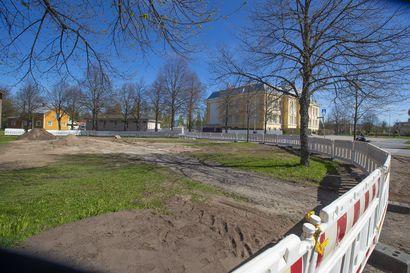 Kolme puistoa ja leikkipuistoa uudistuu tänä kesänä Raahessa