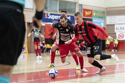FC Kemi nousi kahdesti kahden maalin takaa tasoihin, mutta se ei riittänyt ensimmäisessä futsal-finaalissa