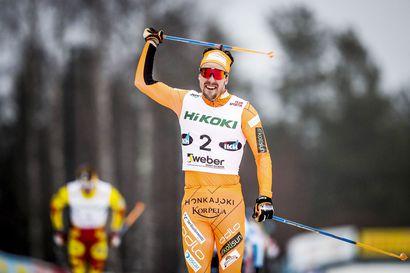 Rovaniemen Suomen Cupin osakilpailussa suksitaan näyttöjä Rukan maailmancupiin