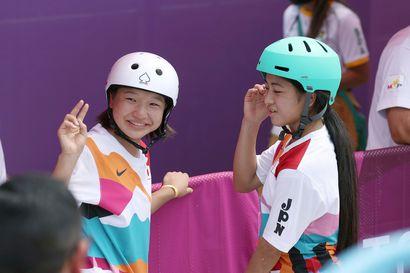 Japanilaisskeittari Nishiya voitti 13-vuotiaiden taiston ja nousi yhdeksi historian nuorimmista olympiavoittajista
