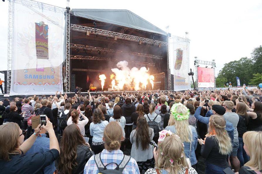Oulun Kärpät on nyt Qstock-festivaalin suurin omistaja.