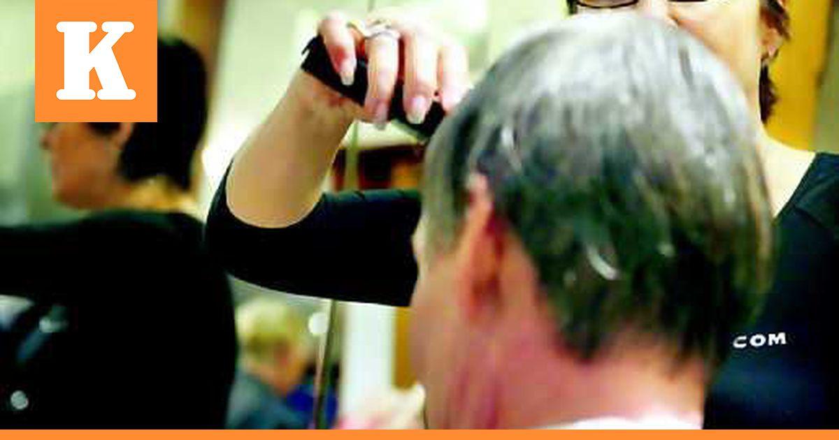 Harmaat Hiukset Värjäys