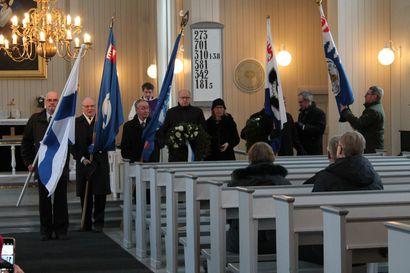 Lukijalta: Talvisodan päättymisen muistojuhla Taivalkoskella