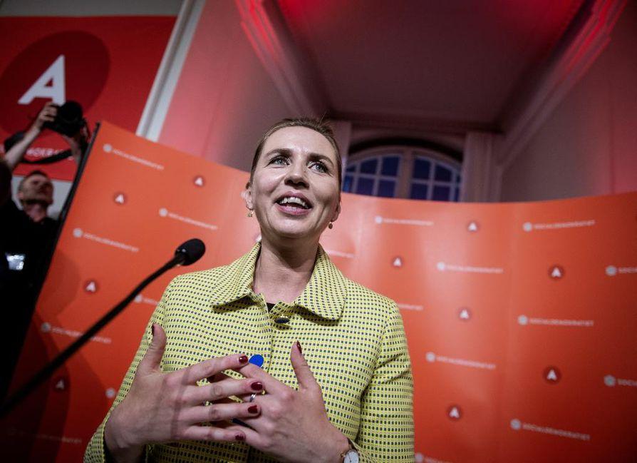 Vaalivoittaja sosiaalidemokraattien puheenjohtaja Mette Frederiksen on erittäin todennäköisesti Tanskan seuraava pääministeri.