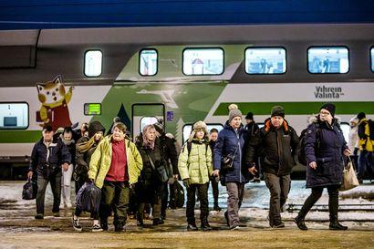 """Pohjoisen kauppakamarit: """"Rautatieyhteyksien kehittäminen jätetty kesken"""""""