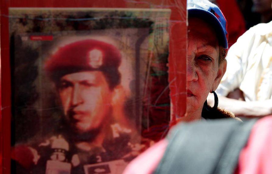 Caracasissa annettiin tukea Nicolas Madurolle aiemmin tällä viikolla.