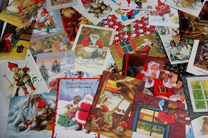 Joulutervehdyksiä lähetettiin postissa viime vuotta enemmän