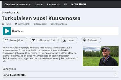 YLE: Talven pimeys oli harhaluulo – Kuuntele Turusta Kuusamoon muuttaneen Mikko Oivukan haastattelu