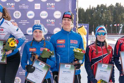 Turunen ja Kotro neljänsiä EM-sprinttiviestissä