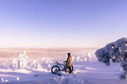 Posio kannattaa talvipyöräilyä Riisitunturilla – Posion kunnan lausunnon mukaan on hyvä ja kannustettava asia, että Metsähallitus seuraa toimintaympäristön muutoksia ja reagoi niihin