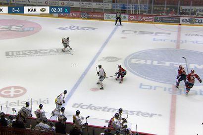 Jesse Puljujärvi viimeisteli Kärppien voiton