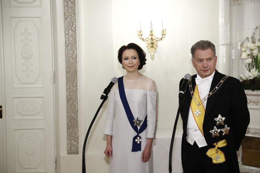 Haukio ja Niinistö vuonna 2018