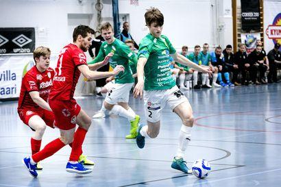ToPV tiivisti futsal-liigan kärkitaistelua - FC Kemi ratkaisi vierasvoiton alun maalikimaralla