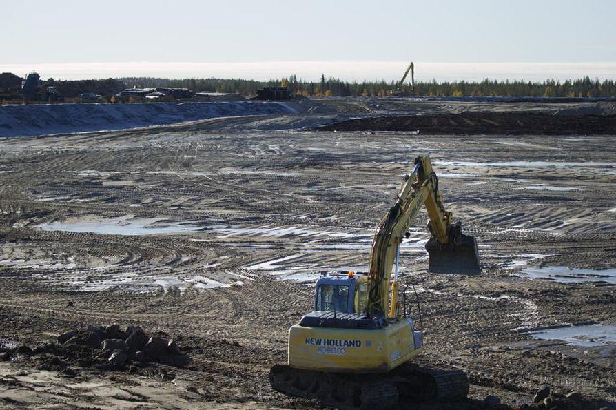 Sotkamo Silverin mukaan ylitykset liittyvät kaivoksen käynnistysvaiheeseen. Yhtiö sanoo ryhtyneensä toimiin asian korjaamiseksi. Arkistokuva.